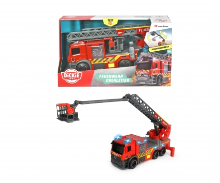 DICKIE Toys Fire Engine with turnable ladder