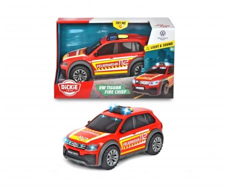 DICKIE Toys VW Tiguan R-Line Fire Car