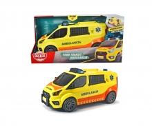 DICKIE Toys SOS AMBULANCIA EMERGENCIAS MEDICAS 38 CM