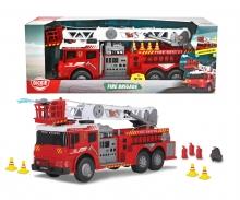 DICKIE Toys CAMIÓN BOMBEROS GIGANTE LUZ Y SONIDO 62 CM