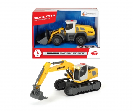 DICKIE Toys Liebherr Work Force, 2-asst.