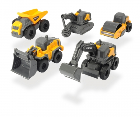 DICKIE Toys Volvo Micro Workers