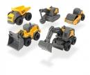 DICKIE Toys Volvo 5er Baustellenset