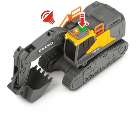 DICKIE Toys Volvo Tracked Excavator