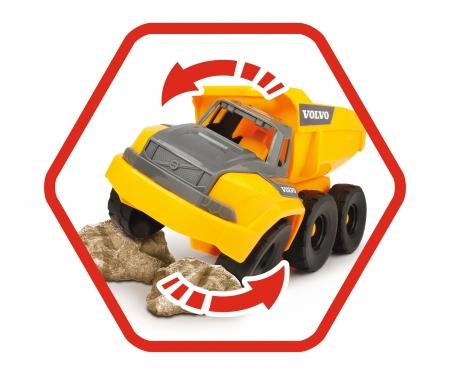 DICKIE Toys Volvo Muldenkipper