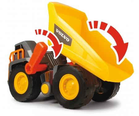 DICKIE Toys Volvo Kipplaster mit Gewichtserkennung
