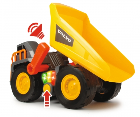 DICKIE Toys Volvo Weight Lift Truck