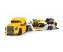 DICKIE Toys MACK / VOLVO TRAILER CON VEHÍCULOS MICRO - 32 CM