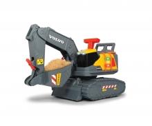 DICKIE Toys RETRO EXCAVADORA VOLVO CON FUNCIONES 30 CM