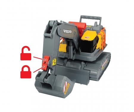 DICKIE Toys Volvo Bagger mit Gewichtserkennung