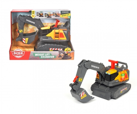 DICKIE Toys Volvo Weight Lift Excavator
