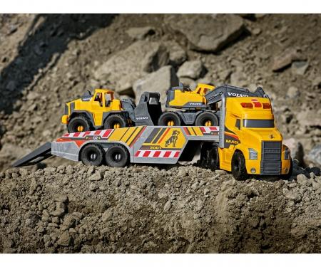 DICKIE Toys Mack/Volvo Heavy Loader Truck