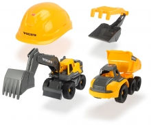 DICKIE Toys Volvo Construction Playset