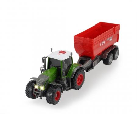 DICKIE Toys TRACTOR FENDT 939 VARIO CON LUZ Y SONIDO 41 CM