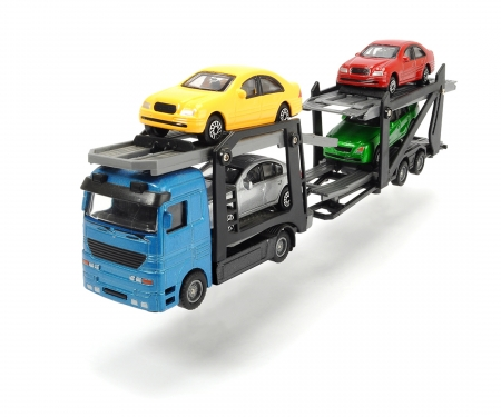 DICKIE Toys TRÁILER PORTACOCHES, 2 MODELOS