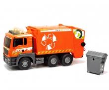 DICKIE Toys CAMIÓN RECICLAJE GIGANTE LUZ Y SONIDO 55 CM