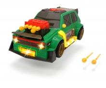 DICKIE Toys VW GOLF GTI FUNCIÓN LANZA DARDOS 26 CM