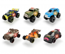 DICKIE Toys VEHÍCULOS JOY RIDER 11 CM, 6 MODELOS