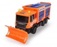 DICKIE Toys Camion chasse-neige Scania