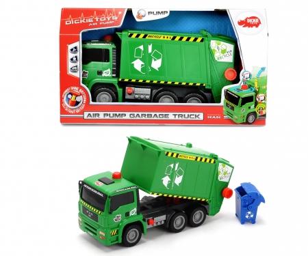 DICKIE Toys CAMIÓN DE BASURA VERDE 31 CM