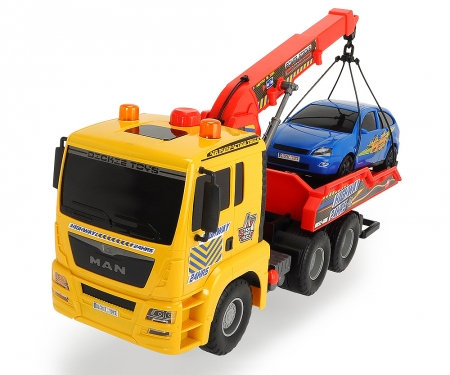 DICKIE Toys Pump Action Tow Truck