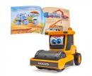 DICKIE Toys Set aus Sachbuch und Fahrzeug: Baustelle