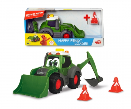 DICKIE Toys Happy Fendt Loader