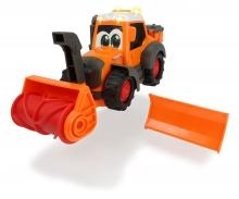 DICKIE Toys Happy Fendt Traktor mit Schneefräse und Schneeschild