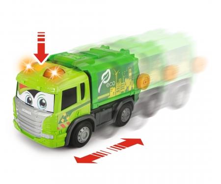 DICKIE Toys Happy Garbage Truck