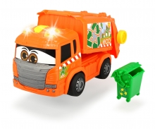 DICKIE Toys Happy Garbage Collector Müllfahrzeug