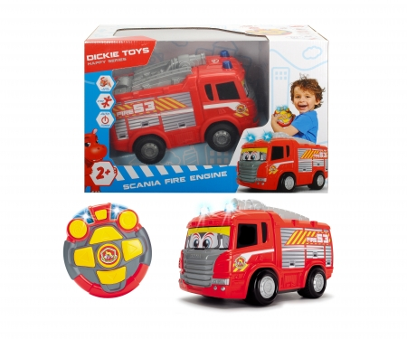 DICKIE Toys RC Happy Scania Fire Engine