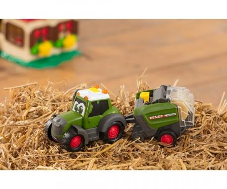 DICKIE Toys Happy Fendt Heuballenwender