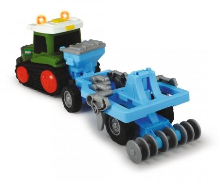 DICKIE Toys Happy Fendt Plow