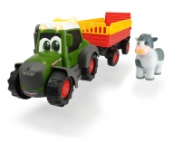 DICKIE Toys Happy Fendt Animal Trailer