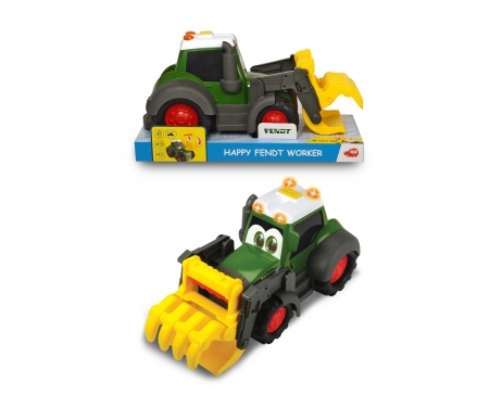 DICKIE Toys Happy Fendt Shovel Tractor