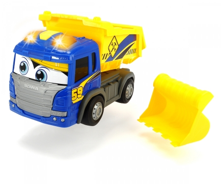 DICKIE Toys CAMIÓN VOLQUETE SCANIA 25 CM
