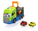 DICKIE Toys TRAILER PORTACOCHES CON LUZ Y SONIDO 42CM