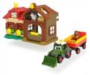 DICKIE Toys GRANJA HAPPY CON TRACTOR Y ANIMALES