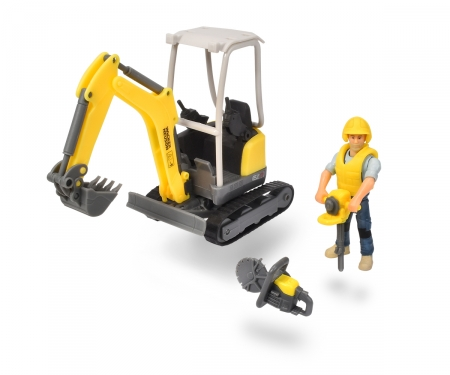 DICKIE Toys Playlife - Bagger Set