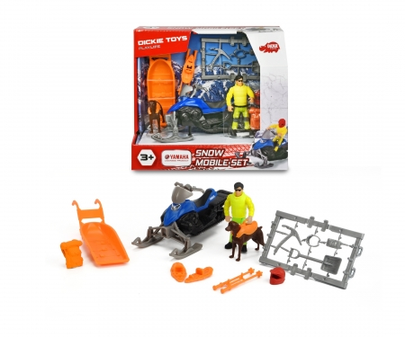 DICKIE Toys Playlife - Snow Mobile Set