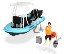 DICKIE Toys Set Lancha de Pesca