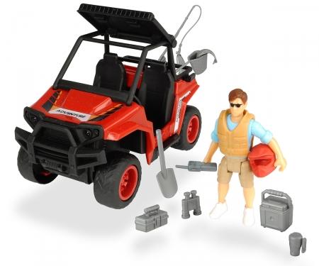 DICKIE Toys SET PARK RANGER GUARDA FORESTAL