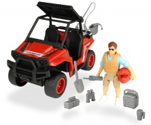 DICKIE Toys SET PARK RANGER GUARDA FORESTAL