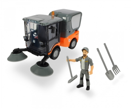 DICKIE Toys Playlife-Street Sweeper Set