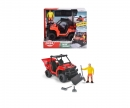 DICKIE Toys Playlife - UTV Snowplow Set