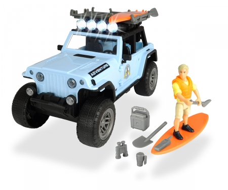 DICKIE Toys SET SURFER CON JEEP