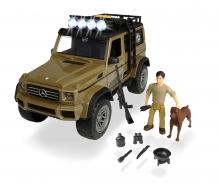 DICKIE Toys SET DE CAZA CON MERCEDES AMG 500