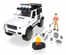 DICKIE Toys SET AVENTURA CON MERCEDES AMG 500