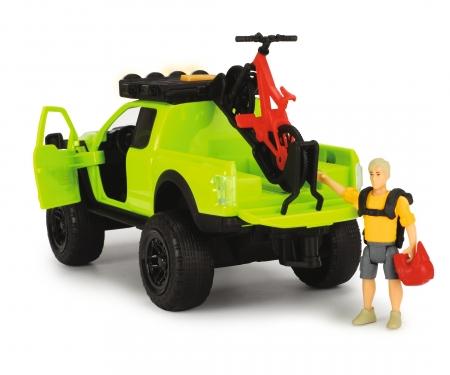 DICKIE Toys SET MOUNTAIN BIKE CON FORD RAPTOR