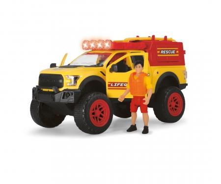 DICKIE Toys Playlife - Set sauvetage sur la plage